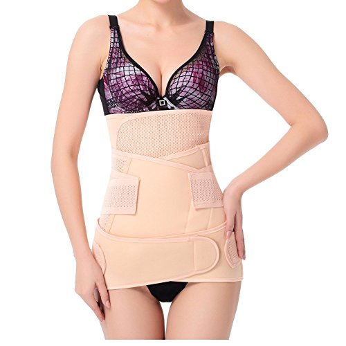 Lifemall Postpartum Support Recover Belly/waist/pelvis Belt Shaper-3 in 1 (M, Mesh Type) (Backache Belt compare prices)