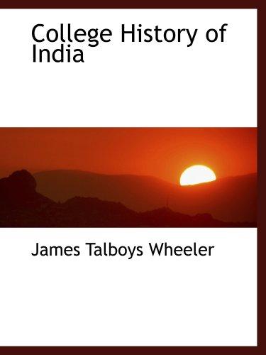 学院历史上的印度