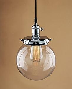 Buyee® Modern Industrial Metal Glass Loft Pendant Lamp Retro Ceiling Light Vintage Lamp from Shenzhen Buyee Trading Co.,Ltd
