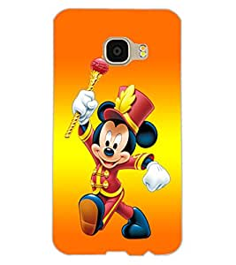 ColourCraft Lovely Cartoon Character Design Back Case Cover for SAMSUNG GALAXY C5