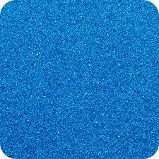 Sandtastik Classic Colored Non Toxic Play Sand 14 Oz (396 G) Bottle Shake / Pour Lid Blue