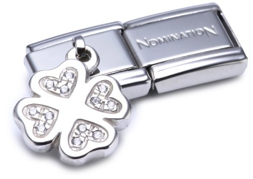 Nomination Composable Women's Bead Classic Charms 925 Silver Lucky Clover