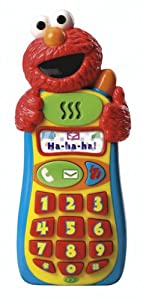 Fisher-Price Sesame Street Elmo Knows Your Name Cell Phone