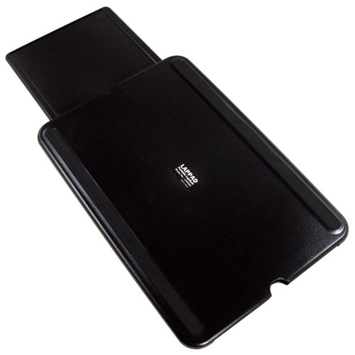 aidata lap005 lap pad notebook stand with mouse tray 15 6 black gray new f ebay. Black Bedroom Furniture Sets. Home Design Ideas