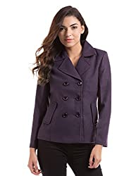 PRYM Women's Jacket (1011513001_Purple_Large)