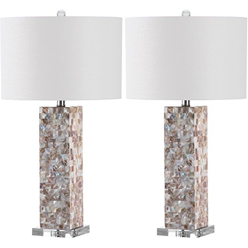 Lighting collection jacoby cream 289 inch table lamp set of 2 safavieh lighting collection jacoby cream 289 inch table lamp set of 2 mozeypictures Images