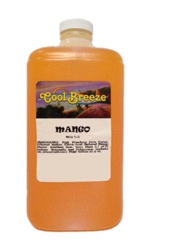 Mango Frozen Drink Machine Granita Slush Mix