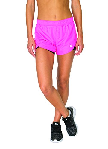 RBX-Active-Womens-Printed-Traditional-Running-Short-with-Inner-Compression