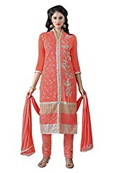 Parinaaz fashion PURE SEMI JORJAT un stricts dress matrial