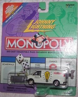 Buy Johnny Lightning 2000 Monopoly Electric Co Utility Truck