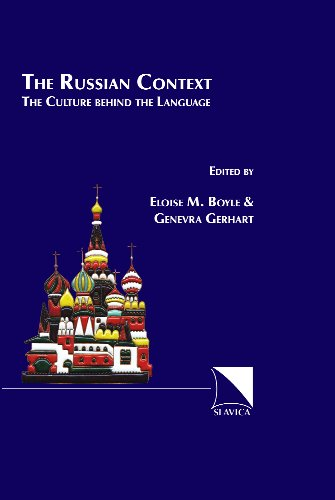 The Russian Context The Culture Behind the Language089357340X : image