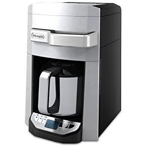 Delonghi Coffee Maker With Timer : DeLonghi DCF6212TTC Programmable Front Fill Drip Coffee Maker, 12 Cup (Silver): Amazon.ca: Home ...