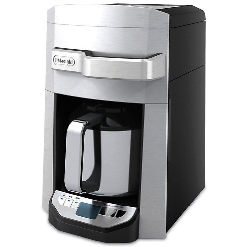 Delonghi Coffee Maker Stainless Steel Carafe : Delonghi DCF6212TTC 12-Cup Programmable Coffee Maker with Thermal Carafe Holiday Deals