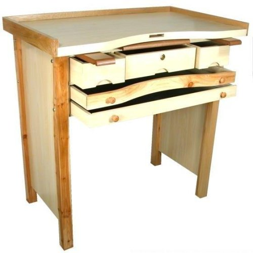 Jewelers Work Bench Wax Carving Soldering 5 Drawer