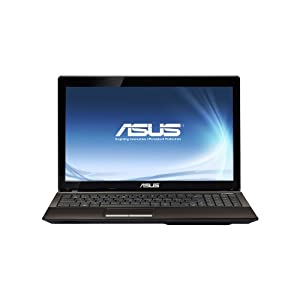 ASUS A53U-ES21 15.6-Inch 4GB LED Laptop Computer with 1.65Ghz AMD E-Series Dual-Core E-450 Processor, 320GB HDD, Webcam