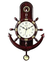 GKP Products Amber Modern Astrology Decorative Wall clock (Multicolor)