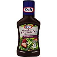 9-Pack Kraft Strawberry Vinegar with Asagio Balsamic Salad Dressing Bottle (8 Ounce)