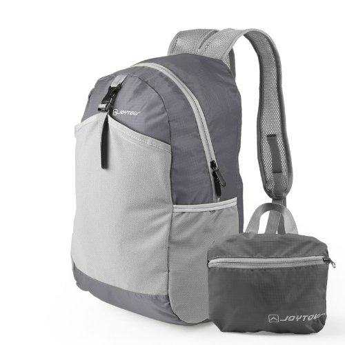 Hynes Eagle Packable Handy Lightweight Travel Backpack Daypack (Grey)