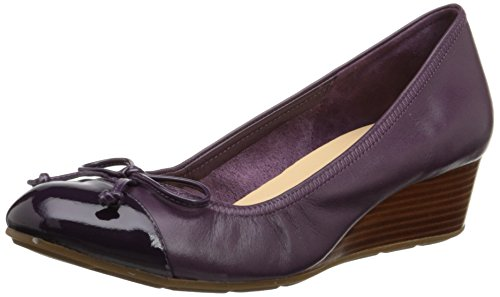 Cole Haan Women's Air Tali Wedge Pump,Elderberry,9.5 B US (Cole Haan Shoes Women Wedge compare prices)