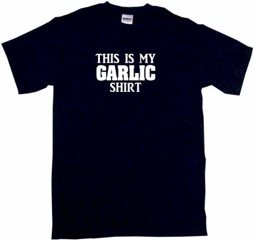 This Is My Garlic Shirt Men'S Tee Shirt Xl-Black