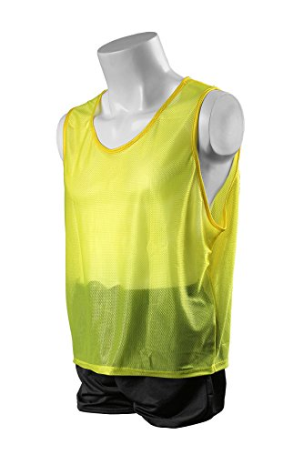 Kwik Goal Hi-Vis Scrimmage Vest, Yellow, Youth - 1