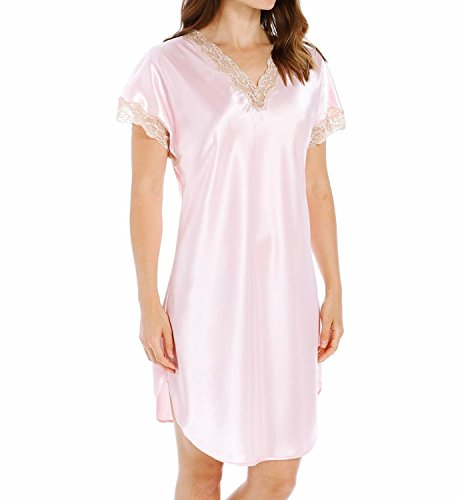 Shadowline Charmeuse Sleep Gown (4503) S/Pink