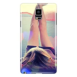 a AND b Designer Printed Mobile Back Cover / Back Case For Samsung Galaxy Note 4 (SG_N4_3D_3419)