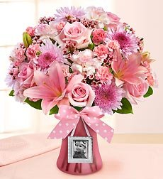 Flowers by 1800Flowers - Sweet Baby Girl Arrangement - Large