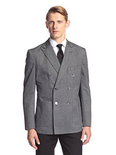 Hardy Amies Men's Peak Lapel Sportcoat