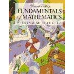 Fundamentals of Mathematics PDF
