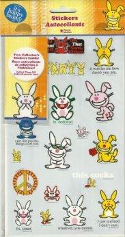 It's Happy Bunny Stickers (Jim Benton)