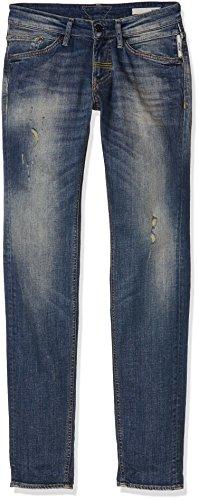 Meltin'Pot Maner, Jeans Slim Uomo, Blu, W34/L34 (Taglia Produttore:34)