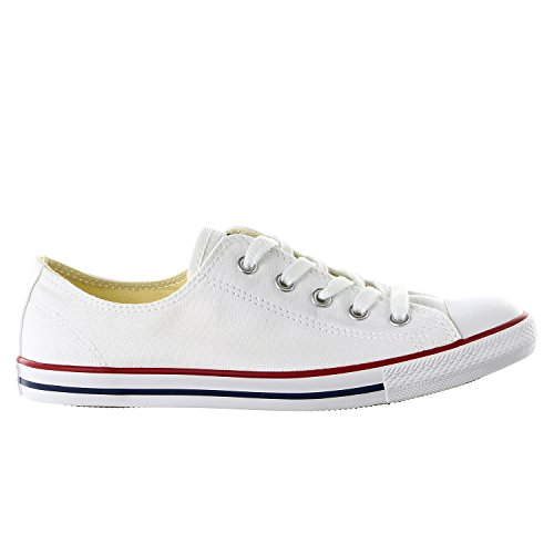 Converse Chuck Taylor All Star Dainty Ox Optical White 537204C Womens 9