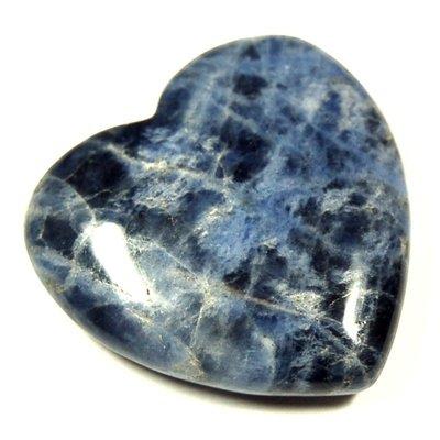 Sodalite Heart (1
