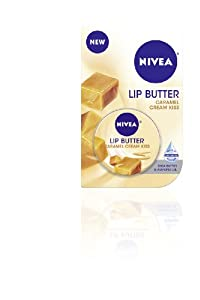 Nivea Lip Butter Carded Tin, Caramel Cream Kiss, 0.59 Ounce