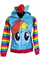 My Little Pony Rainbow Dash Youth Zip Up Hoodie