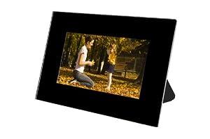 """Telefunken DPF7000 Cadre photo numérique 7"""" Résolution 480x234 pixels Lecteur carte Diaporama 128 Mo Noir"""