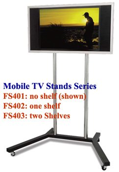 FS401 Retail Display Stand for 32