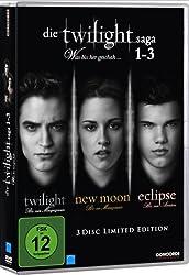 Die Twilight Saga 1-3 - Was bissher geschah... [Limited Edition] [3 DVDs]