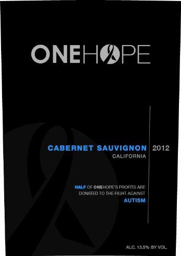 2012 Onehope California Cabernet Sauvignon 750 Ml