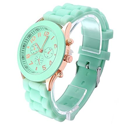 OFTEN® Popular Silicone Quartz Men Women Girl Boy Unisex Jelly Wrist Watch Cheap Gift