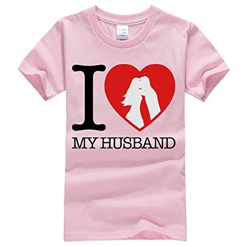 I love my husband T Shirt Medium light pink capdase from Dealong boys 1