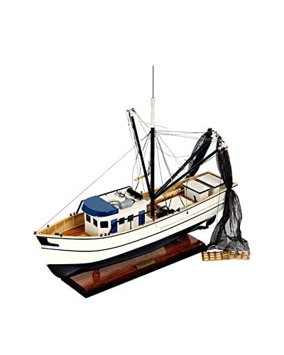 Old Modern Handicrafts, Inc. Shrimp Boat, White