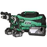 Hitachi KC18DCL 18-Volt Lithium Ion Impact Driver and Hammer Drill Combo Kit: Amazon.ca: Tools & Home Improvement