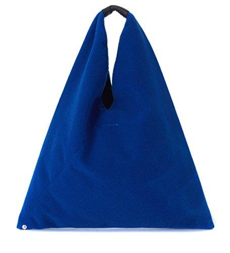 bolso-japanese-mm6-maison-margiela-en-poliester-azul-electrico