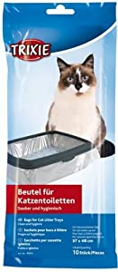 Trixie Cat Litter Tray Bags, 37  48 cm, 10 Pieces