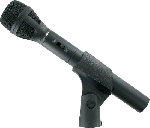 Av-Jefe Phm449 Vocal/ Instrument Dual Power Microphone _ Studio & Live Performance Quality, Can Be Run By Aa/Um3 Battery 1.5V Dc Or Phantom Power 9V - 52V Dc
