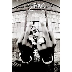 Tupac Shakur Me Against the World Music Poster Print
