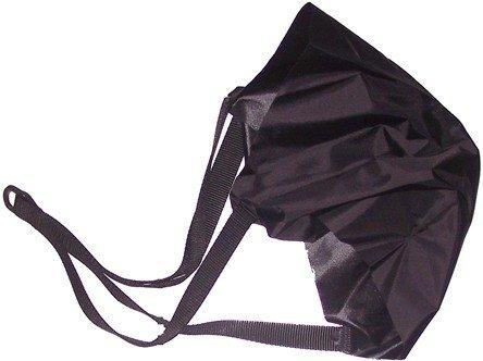 Parachutes-uniquement-partie-finale-de-rechange-Noir-40-cm