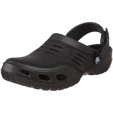 Crocs Yukon Sport, Herren Clogs, Schwarz (Black), Gr. 39-40 EU ( M7 US)